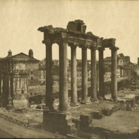 Landscape View of the Roman Forum