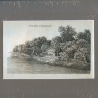 Series of Etchings showing Principles of Landscape