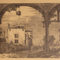 La Portique a la Lanterne (The Portico with Lantern)