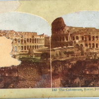 Stereoview Photograph of the Arch of Settimio Severo (B)